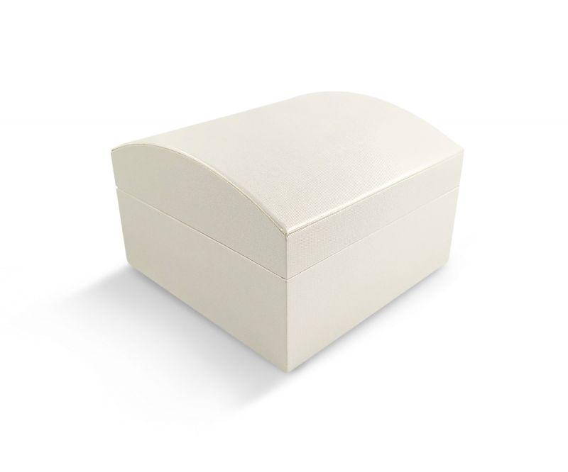 קופסת קרטיה שמנת מעוגלת לצמיד קשיח