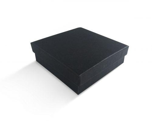 קופסה שחורה חלקה לתליון 9X9