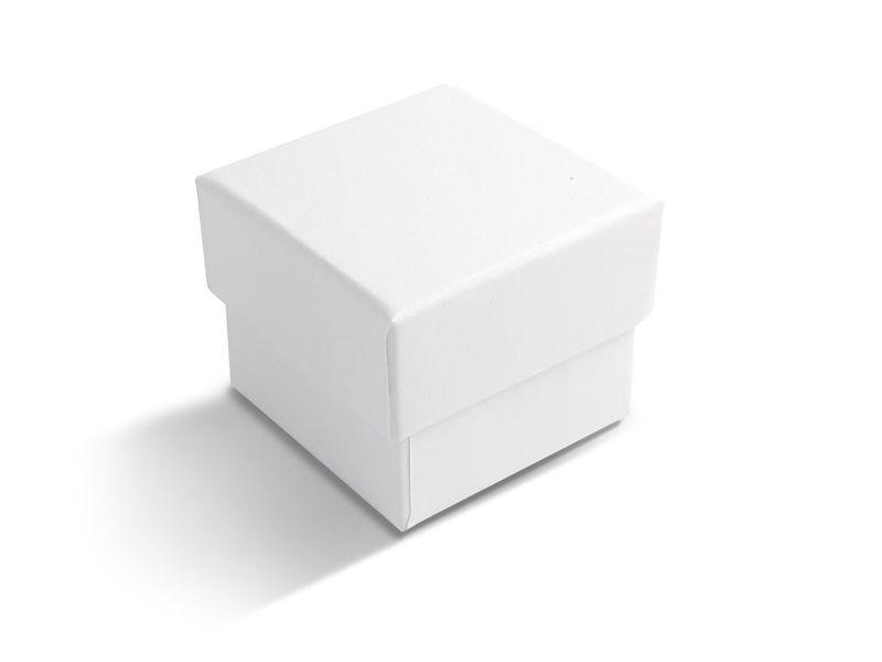 קופסה לבנה לטבעת 5X5X4