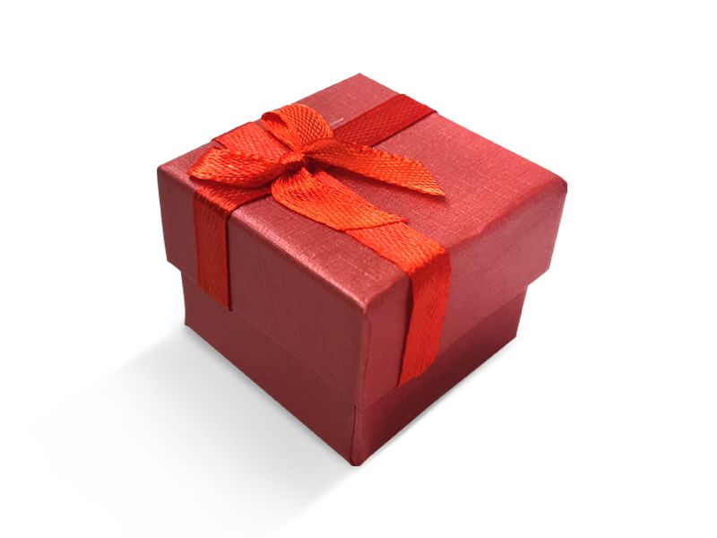 קופסה אדומה עם סרט לטבעת 4X4