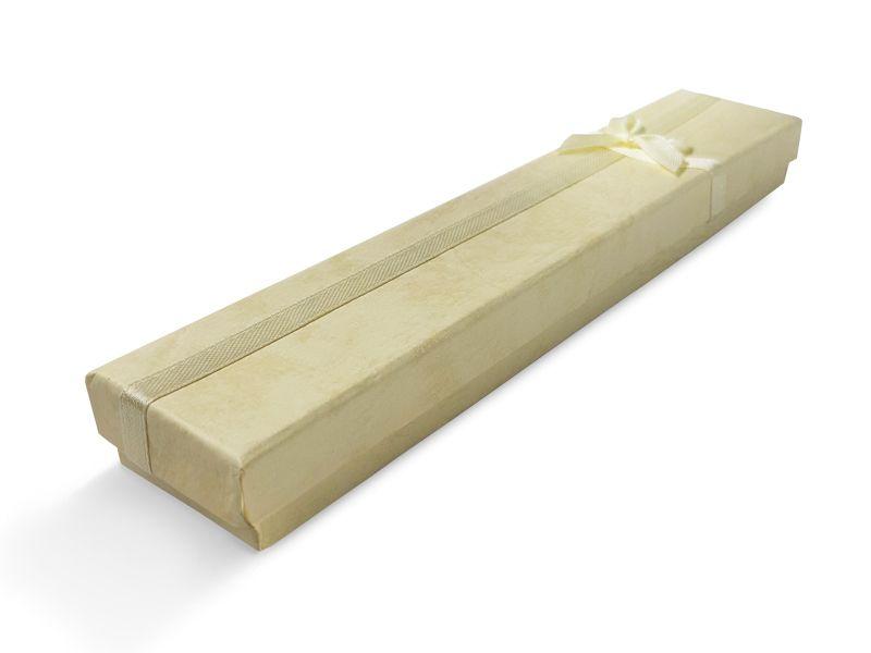 קופסה צהבהבה עם סרט לצמיד 20X4