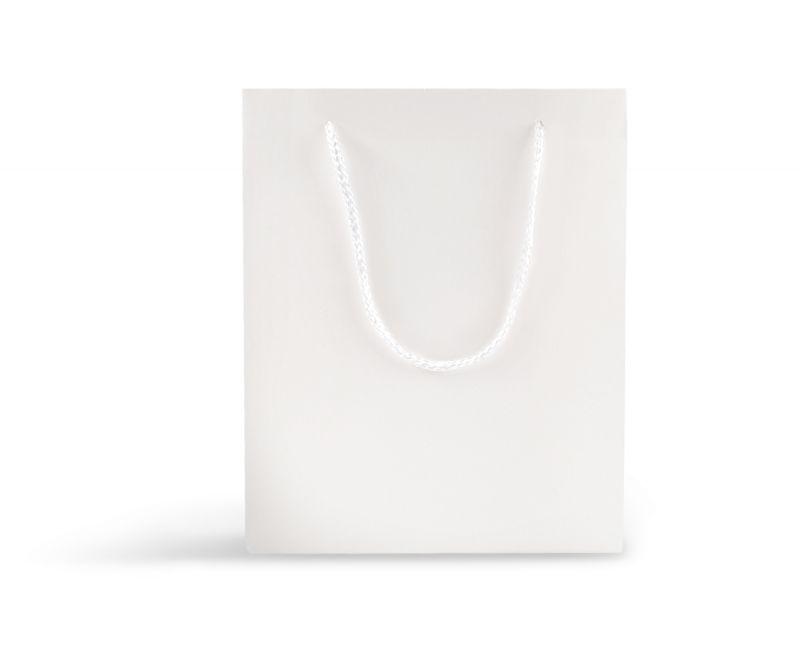 שקית אריזה לבנה חלקה - 25.5X20.5