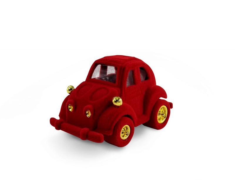 קופסת קטיפה לטבעת - מכונית