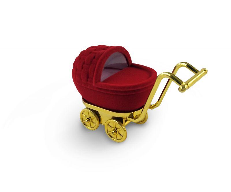 קופסת קטיפה לטבעת - עגלה