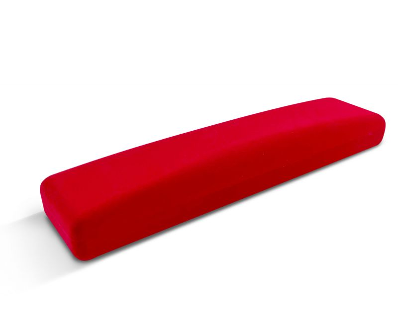קופסת קטיפה שטוחה לצמיד ארוך